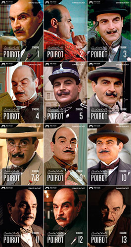 Poirot Collection - Stagioni 1-13
